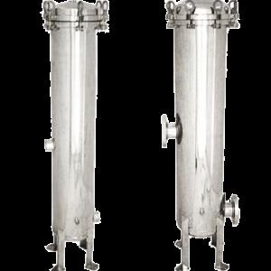 Los recipientes de filtro de cartuchos múltiples brindan una filtración de líquidos en un diseño liviano de acero inoxidable pulido externamente.