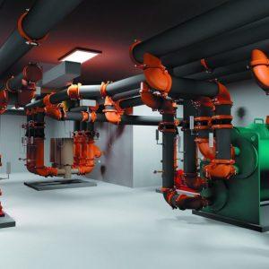 Sistemas contra incendio Victaulic es el principal producto de soluciones de unión mecánica de tuberías.
